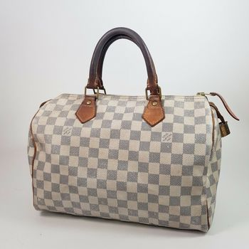 Louis Vuitton Damier Azur Speedy Bag