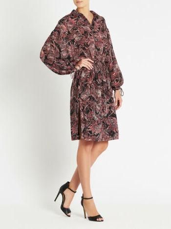 IRO Paris Dress Placid Size 36 Small TO Medium Retail $425.00
