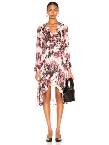 IRO Paris Dress Garden Size 36 Small TO Medium Retail $325.00