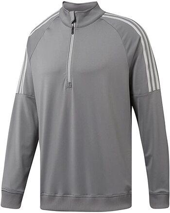 Adidas Mens Golf 3-Stripe Sweatshirt, L