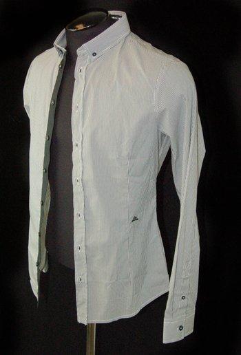 FRANKIE MORELLO Men's Designer Shirt-M-$295.00