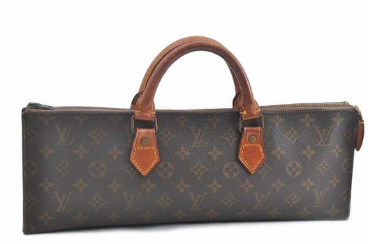 Louis Vuitton Monogram  Smart Sac Triangle Handbag MSRP $2499