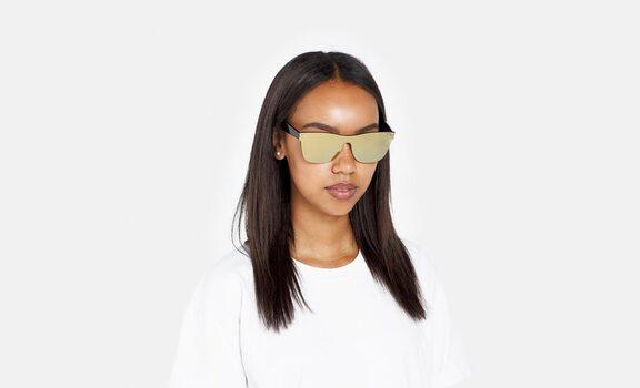 RetroSuperFuture Screen Classic Gold Sunglasses