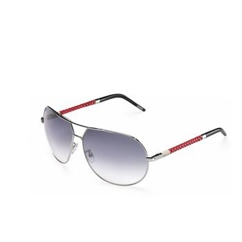 New Invicta Gradient Silver Aviator Sunglasses