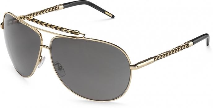 MADE IN ITALY New Invicta Gold Aviator Sunglasses - Retail $395.00