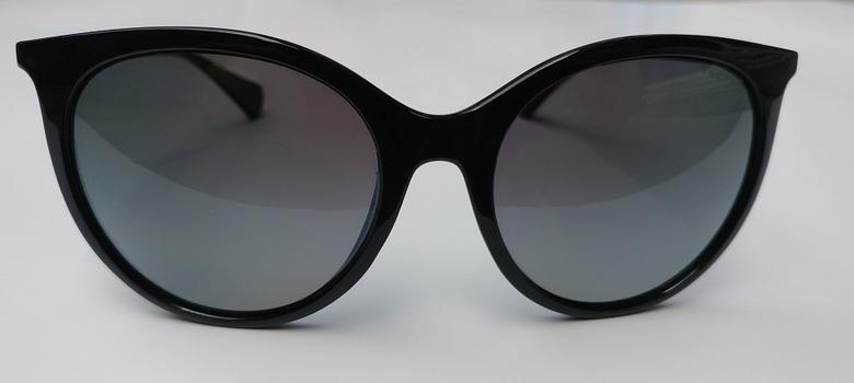 Ralph Lauren Women`s Black Sunglasses