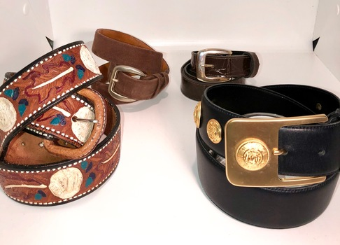 Belts 4 Pieces Including Mondi Belt