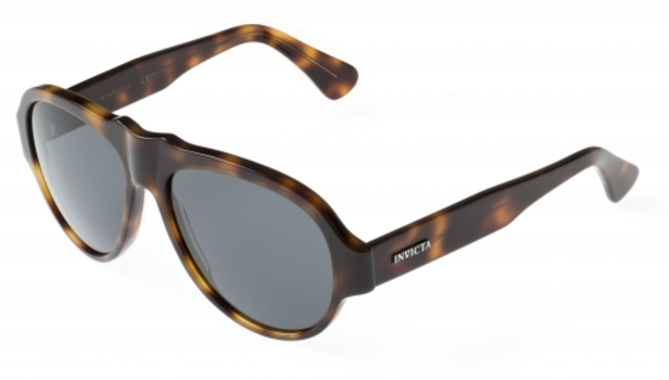 New Invicta Brown Tortoise Vintage London Dusk Sunglasses - Retail $395.00