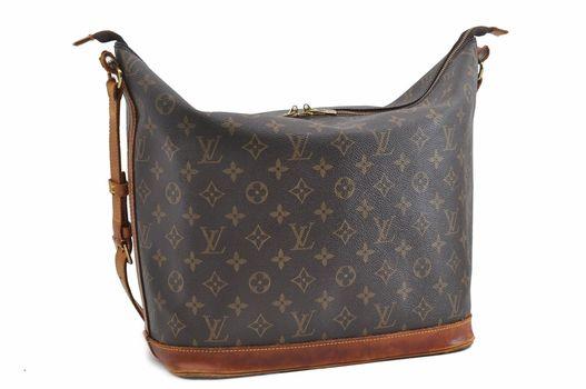 Louis Vuitton Rare Monogram Sharon Stone Amfar Shoulder Handbag MSRP $2899