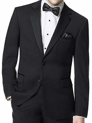 Men's Designer BELLISSIMO Tuxedo Jacket - Size 44T - Retail $399.00