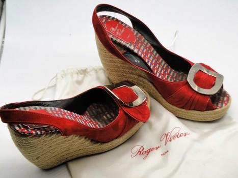 Roger Vivier Paris Cordella Women's Shoes Sz 9 Retail $475.00