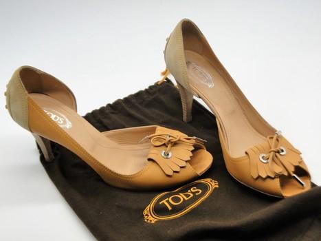 Tod's Women's Shoes Sz 9 Retail $475.00