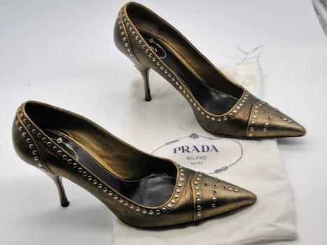 Prada Women's Shoes Sz 9-1/2 Retail $775.00