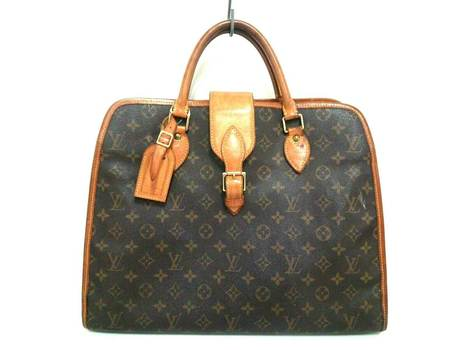 LOUIS VUITTON Rivoli Monogram Handbag MSRP $2899