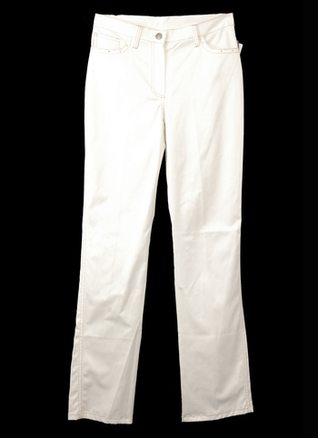 Women's Designer ELGI CREAZIONI Swarovski Crystal Accent Pants - Size 42 - Retail $325.00