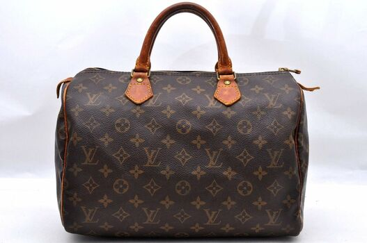 Louis Vuitton Monogram Speedy 30 Hand Bag
