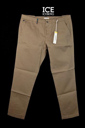 ICEBERG Men's Italian Designer Cotton Casual Pants - Tag Size 56 EU/40 US - $450.00 Retail
