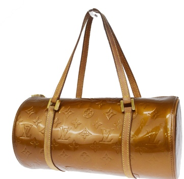 Louis Vuitton Bedford Hand Bag Monogram Vernis Bronze Handbag