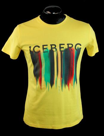 ICEBERG Men's Italian Designer T-Shirt - Size 4XL - $295.00 Retail