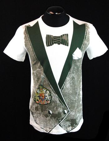 MOSCHINO Men's Italian Designer T-Shirt - Size S - $295.00 Retail
