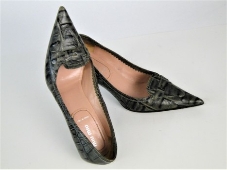 Miu Miu by Prada Shoes Sz 6-1/2 Opening Bid $1.00 NR
