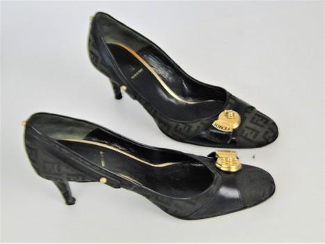 Fendi Shoes Sz 5-1/2 Opening Bid $1.00 NR