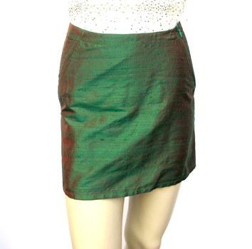 MOSCHINO JEANS Women's Iridescent Silk Skirt -Size S- Retail $299.00