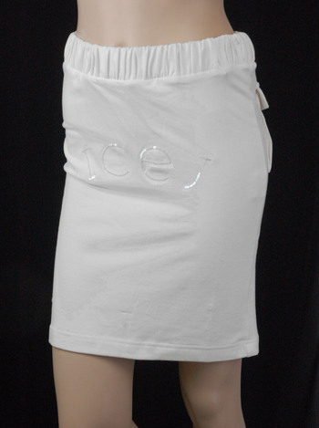 NEW Women's Designer ICE B JEANS Cotton Skirt - Tag Size 38-S/ M - $300.00 Retail