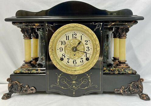 Rare Seth Thomas Adamantine Shasta Model No 32 Mantle Clock