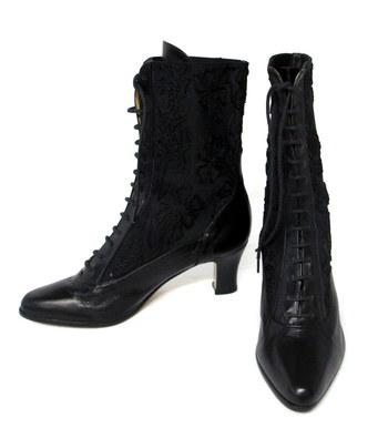 Juillet Venise Women's Lace Up Ankle Boots-Size 5