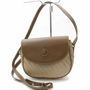 GUCCI Shoulder Saddle  Canteen Handbag Brown Monogram $2199