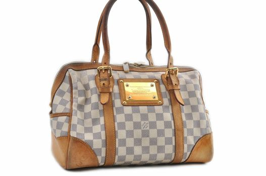 Louis Vuitton Damier Azur Berkeley HandBag MSRP $2999