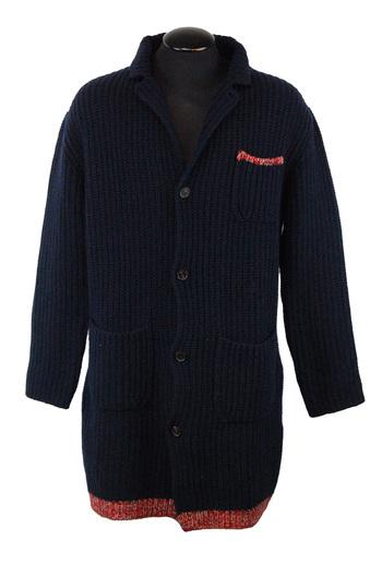 ICEBERG Men's Italian Designer 3/4 Length Knitted Sweater - Size M - Retail $650.00