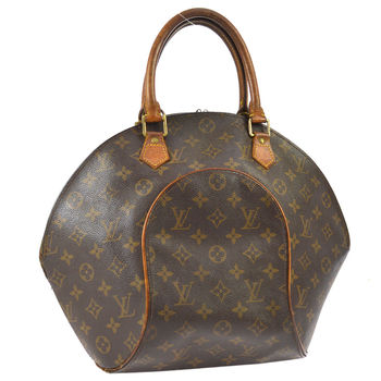 LOUIS VUITTON Ellipse PM HandBag Monogram Leather Brown MSRP $2799