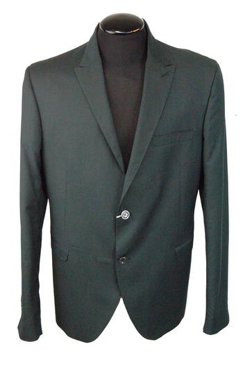 Men's Italian Designer IVORY Jacket - Size 56(EU) - Retail $499.00