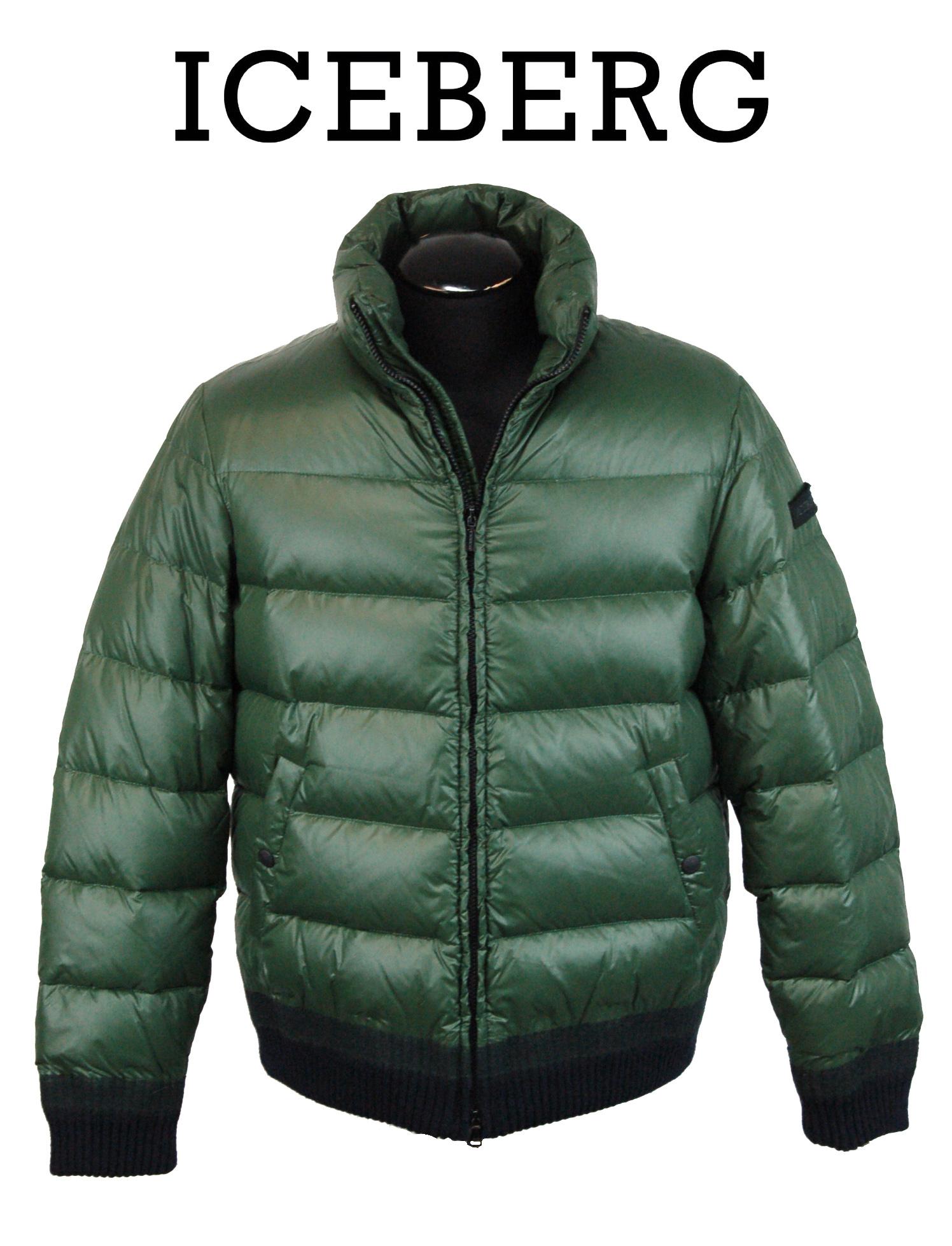 Image 1 of 4. Men s Italian Designer ICEBERG Goose Down Puffer Jacket ... 754fce143