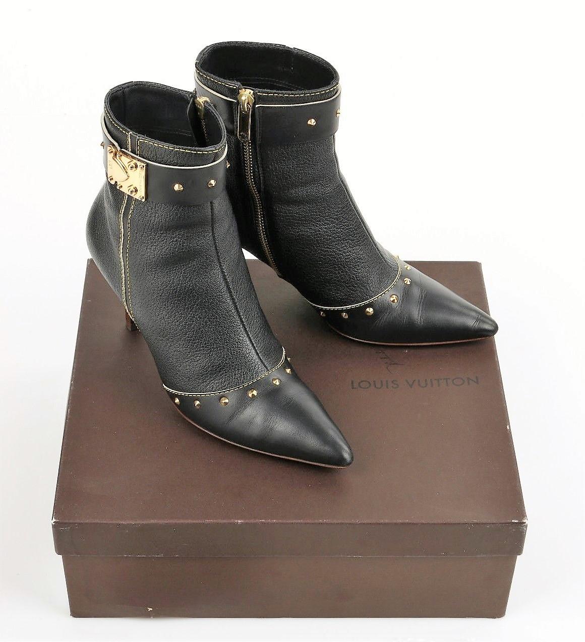 Louis Vuitton Women S Boots Size 9 Property Room