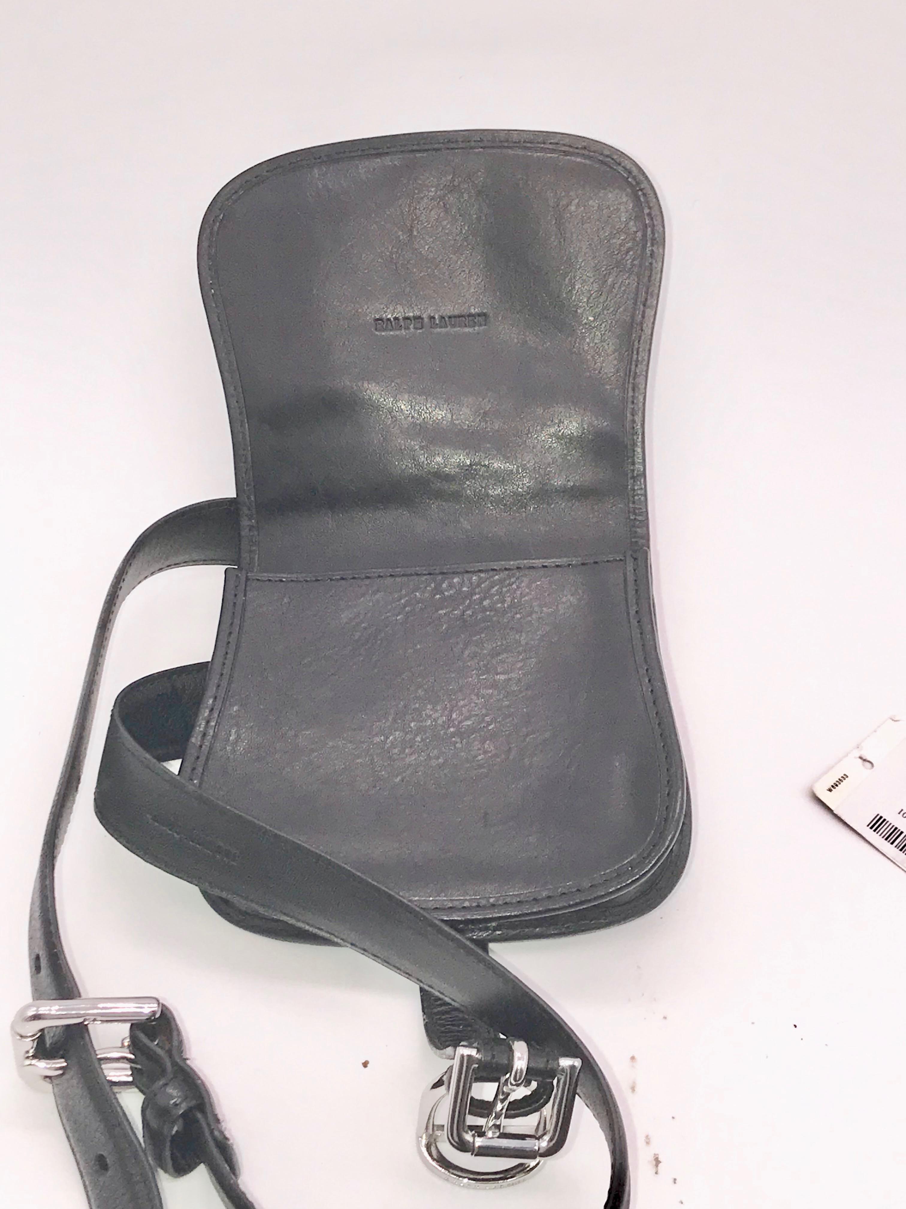 Ralph Lauren Classic Saddle Bag Hip Pouch MSRP  499  927d8e76fea71