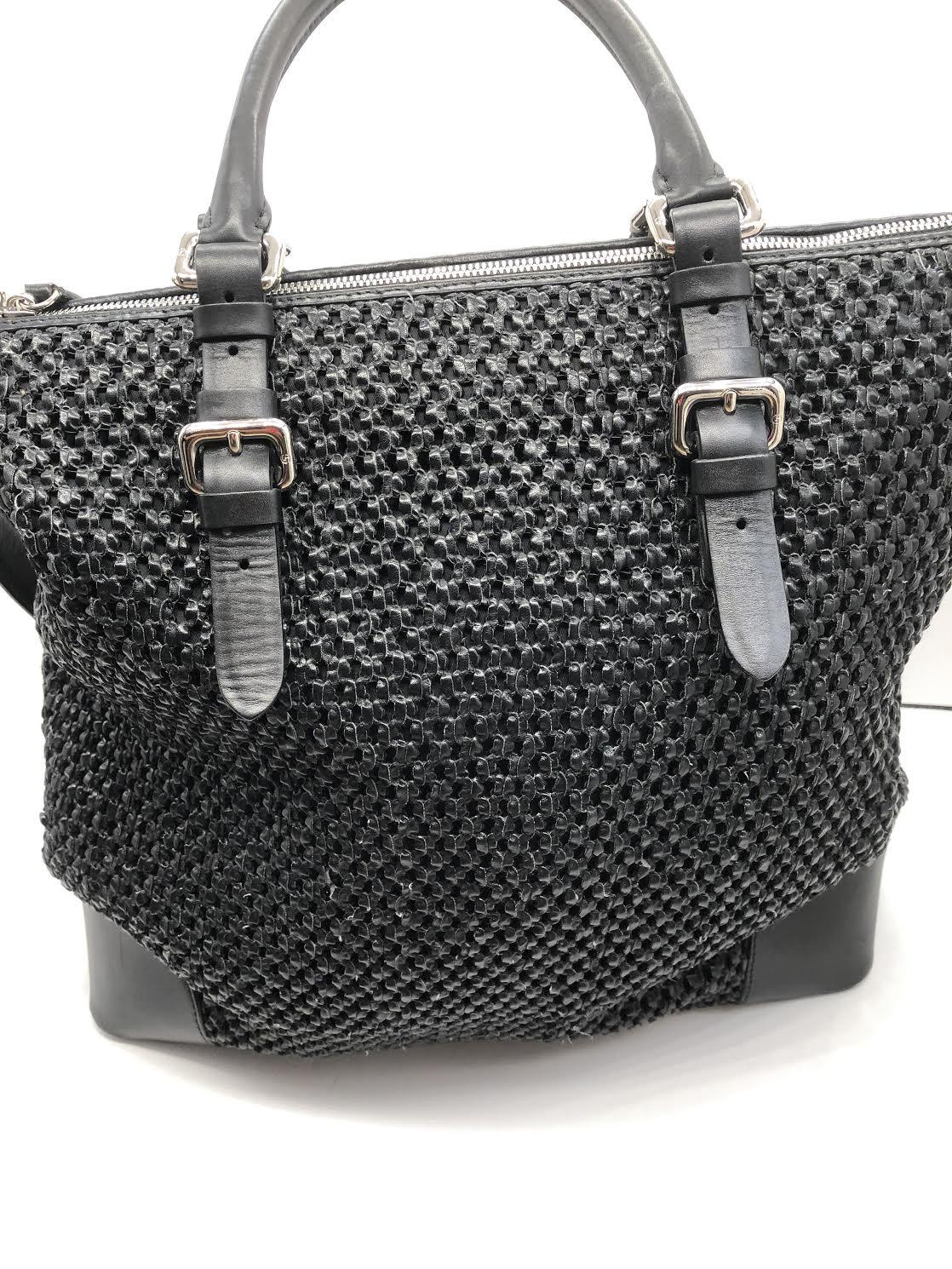 c92fb854c192 Giorgio Armani Handbag Women s Black leather MSRP  1