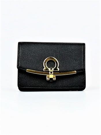 Ferragamo Icona Card and Key Holder