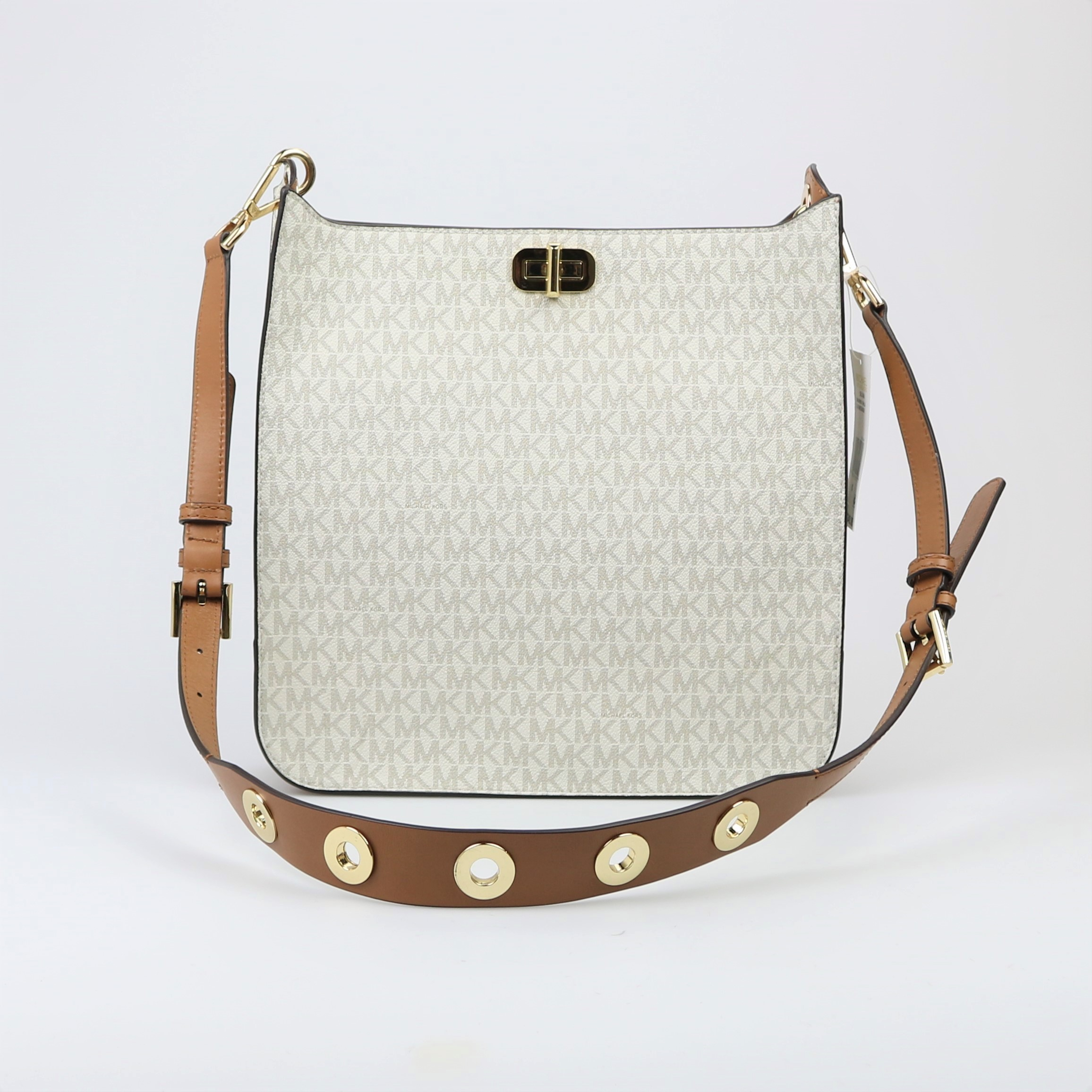 16ca97aef0d85 Michael Kors Sullivan Large North South Messenger Bag