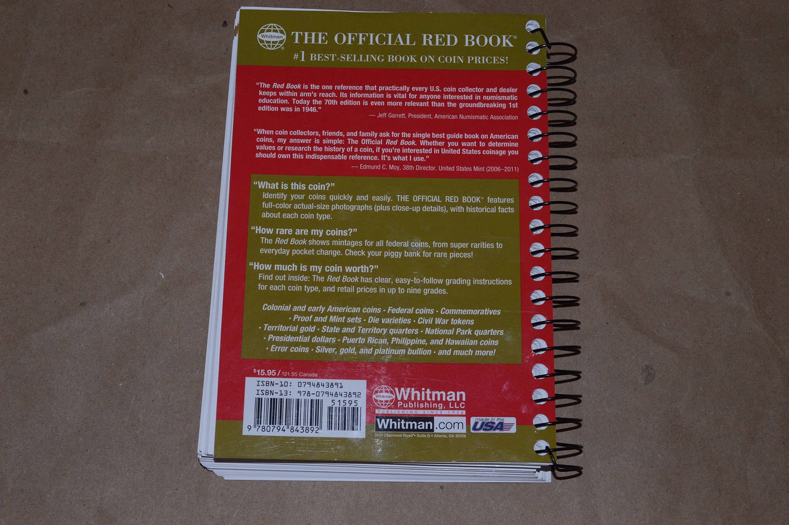 2017 United States Coins Red Book | Property Room