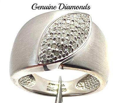0.25ctw Genuine Diamond Ring Size 6