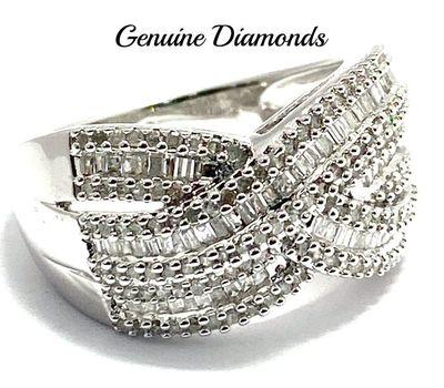 1.00ctw Genuine Diamond Ring Size 10