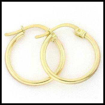 10k Yellow Gold 0.8 Grams Hoop Earrings