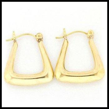 10k Yellow Gold 1.4 Grams Hoop Earrings