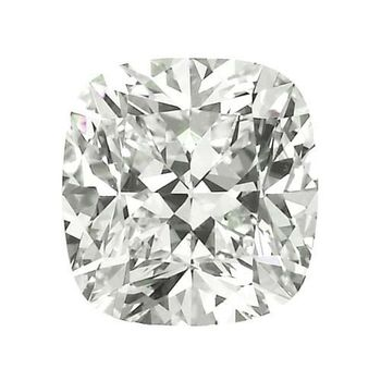 4.02ct H VS2 GIA Certified Cushion Cut Loose Diamond