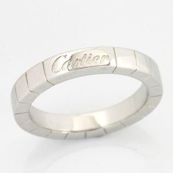 Cartier Women's Vintage 18K White Gold Ring size 5