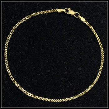 Solid 10k Yellow Gold Bracelet