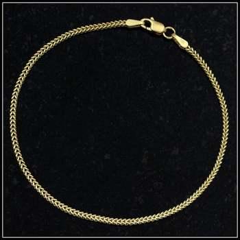 Solid 10k Yellow Gold Bracelet